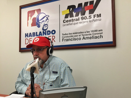 Hugo Chávez - Francisco Ameliach