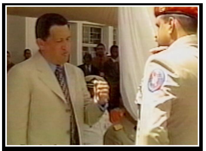revolucion militar Francisco Ameliach - Hugo Chavez