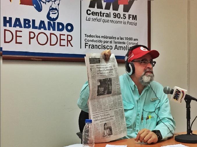 paz en Venezuela - francisco ameliach
