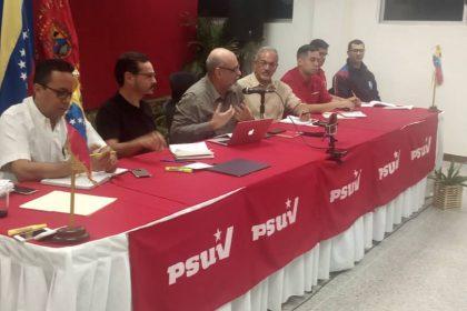 PSUV - Conformado estado mayor ampliado para la defensa de la nación.