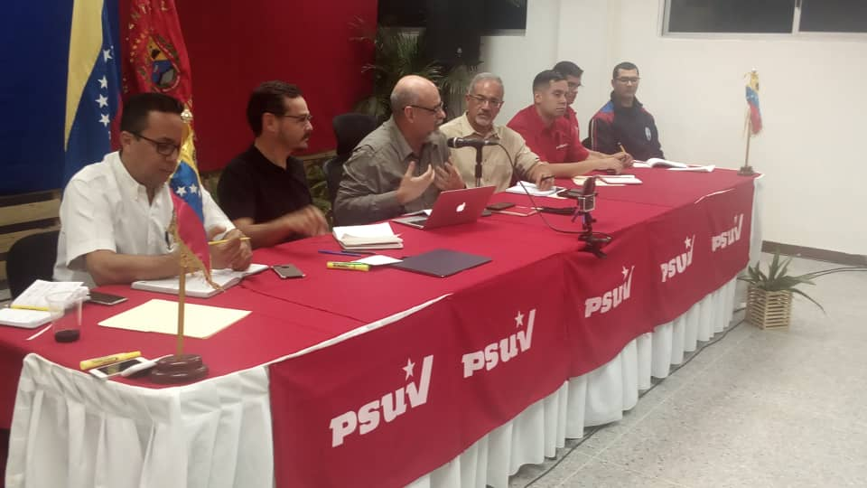 PSUV - Conformado estado mayor ampliado para la defensa de la nación.