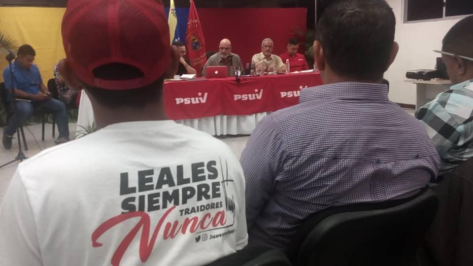 PSUV Estado mayor defensa nacion