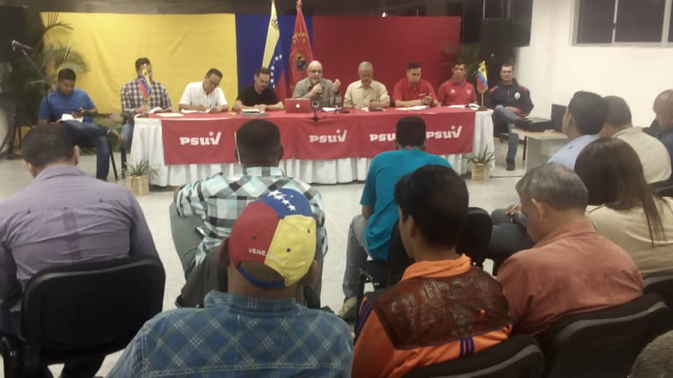 PSUV Estado mayor ampliado