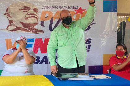 Francisco Ameliach candidato voto lista
