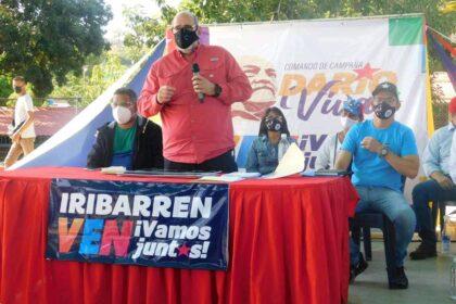 Francisco Ameliach voto lista por Lara