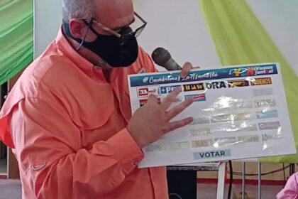 Ameliach en simulacro electoral - FAO