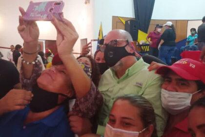 Francisco Ameliach elecciones parlamentarias lara