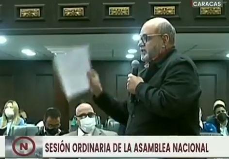 Francisco Ameliach: Jamás en Venezuela se podrá llegar al poder por una vía distinta que no sea por un proceso electoral